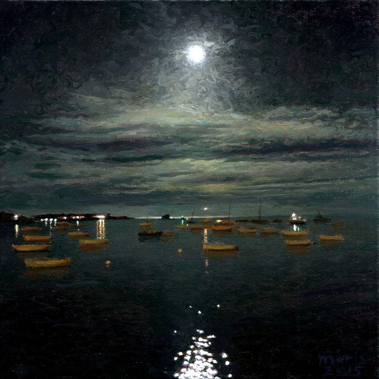Moonlight on the bay