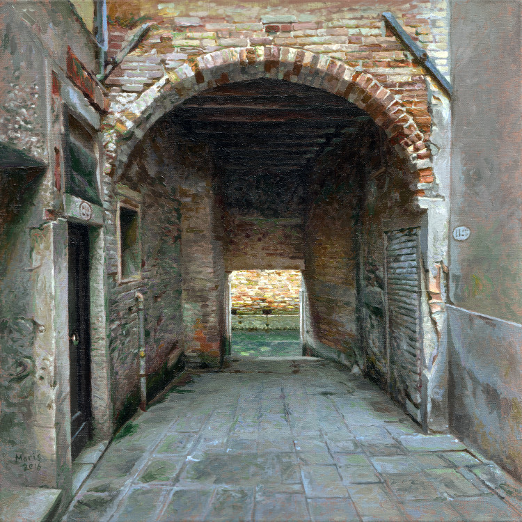 Gate, painting by Jan Maris
